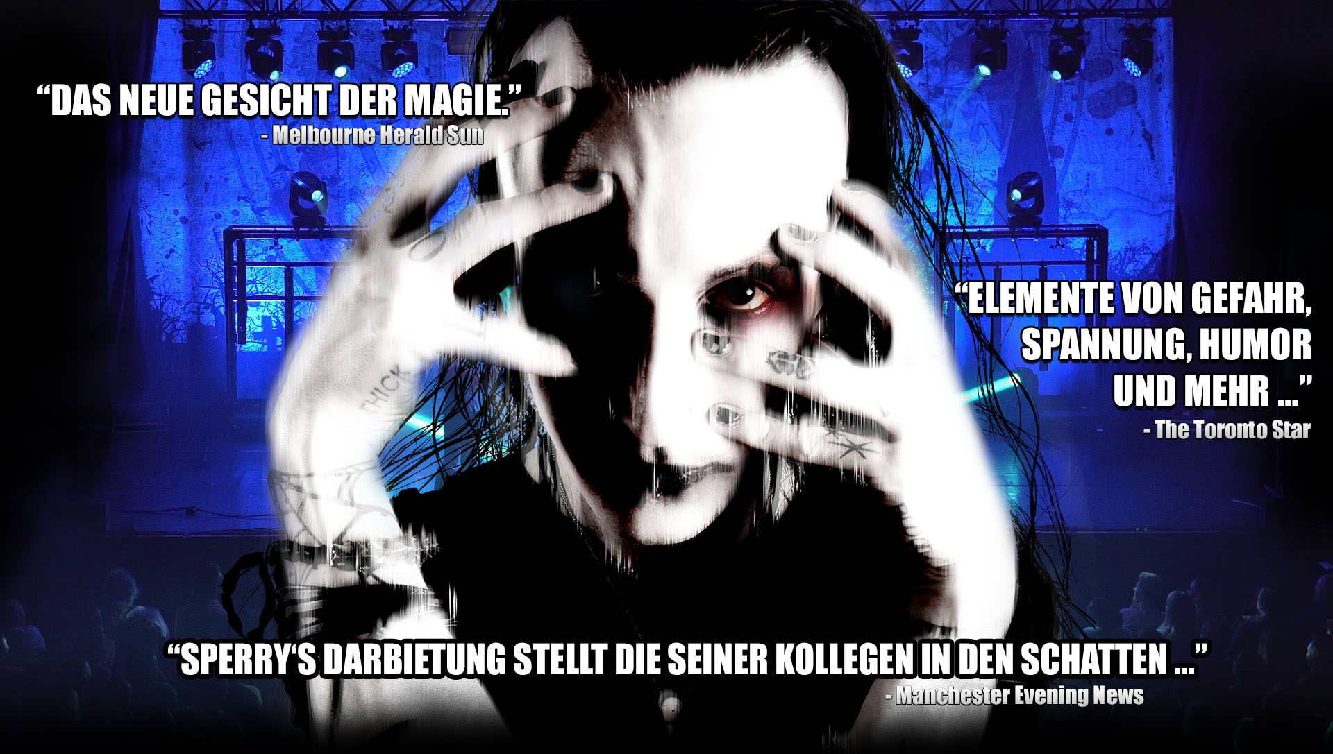 germany touring illusionist